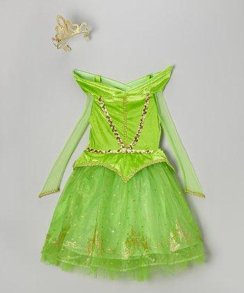 Green Princess Dress-Up Outfit - Toddler
