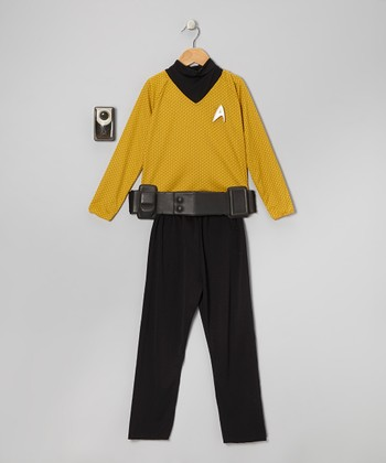 Gold Star Trek Kirk Dress-Up Set - Boys