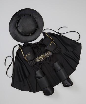 Black Zorro Pet Costume