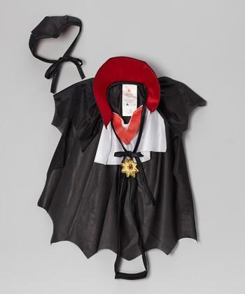 Black Dogula Pet Costume