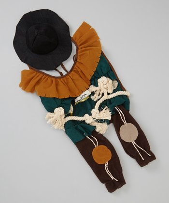 Green Scarecrow Pet Costume