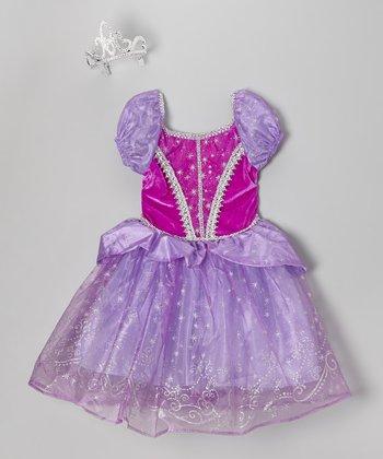 Lavender Princess Dress-Up Set - Girls