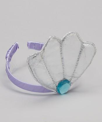 Purple & Silver Mermaid Tiara