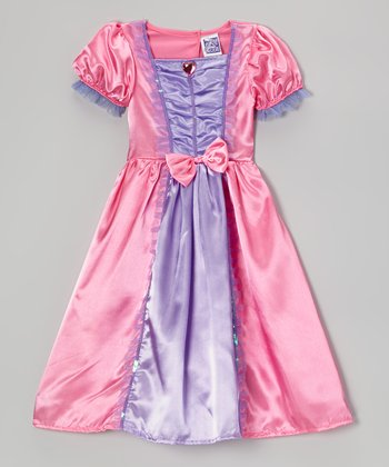 Pink & Purple Princess Dress - Girls