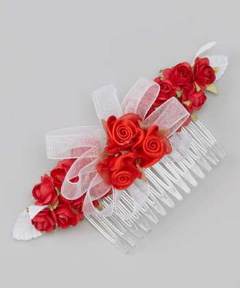Burgundy Rose Comb