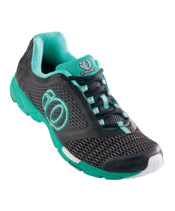 Shadow Gray & Black Streak II Running Shoe - Women