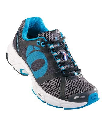 Shadow Gray & Black Syncro Fuel RD II Running Shoe - Women