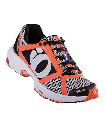White & Coral Syncro Fuel RD II Running Shoe - Women