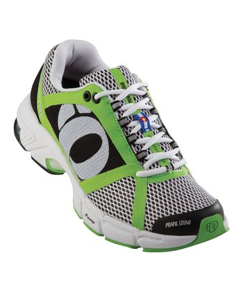 White & Black Syncro Fuel RD II Running Shoe - Women