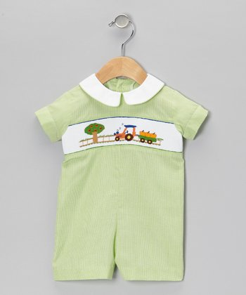 Green Harvest Romper - Infant