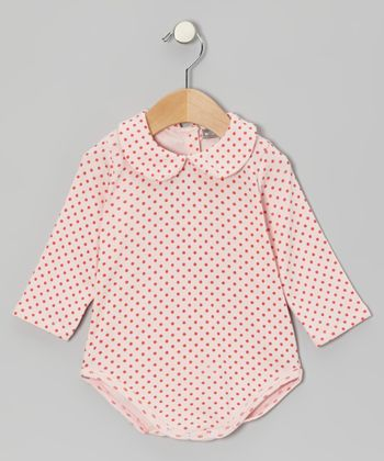 Red Polka Dot Bodysuit - Infant