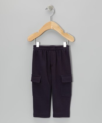 Navy Cargo Pants - Infant