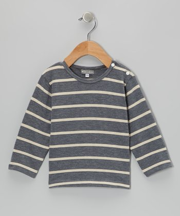 Gray Stripe Tee - Infant & Toddler