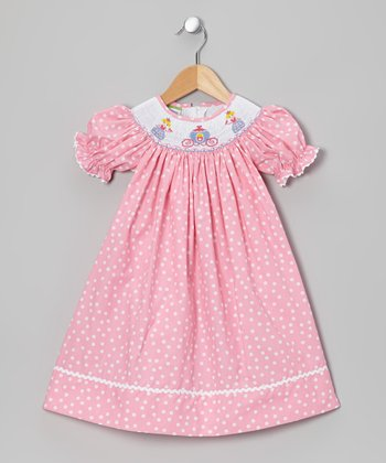 Pink Princess Bishop Dress - Infant & Toddler