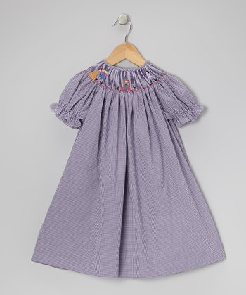 Purple Abracadabra Bishop Dress - Toddler & Girls