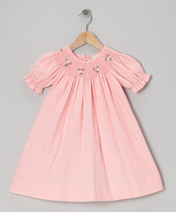 Pink Corduroy Bishop Dress - Infant & Toddler