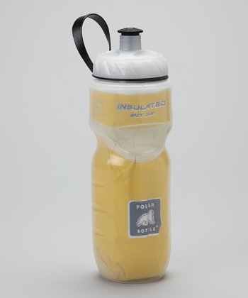 Yellow & White 20-Oz. Bottle