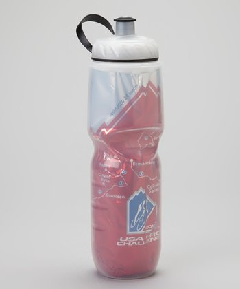Pink & White 24-Oz. Bottle