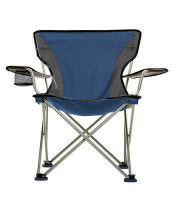 Blue & Gray Easy Rider Portable Chair