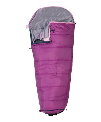 Purple & Gray Junior Sleeping Bag