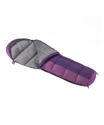 Purple & Lavender Mummy Sleeping Bag