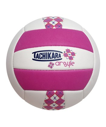 Pink & White Softec Volleyball