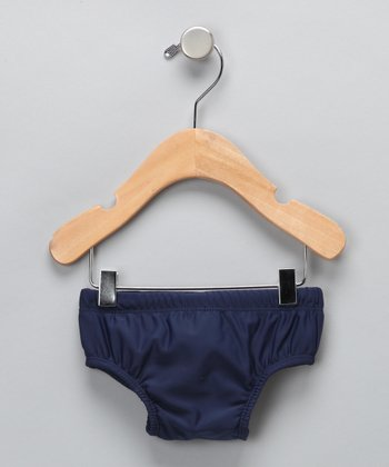 Navy Swim Diaper - Infant