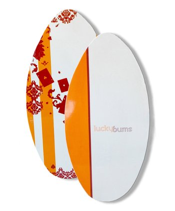 "'Love the Wave' 39"" Wood Skim Board"