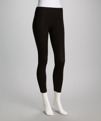Black Leggings - Women