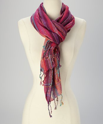 Pink Shiny Magic Scarf