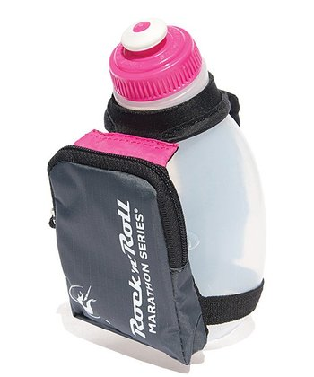 Pink Sprint Palm 10-Oz. Water Bottle Holder