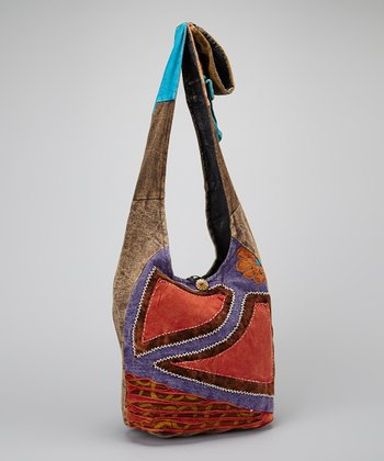 Abstract Patchwork Tote