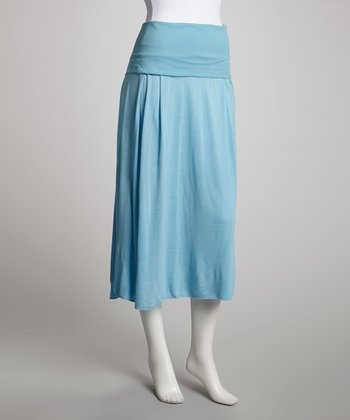 Blue Convertible Skirt - Women
