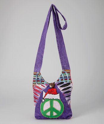 Purple Peace Crossbody Bag