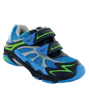Blue & Green Morphis Running Shoe