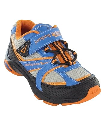 Blue & Orange Motion Running Shoe