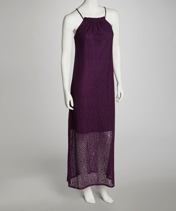 Blackberry Maxi Dress - Women