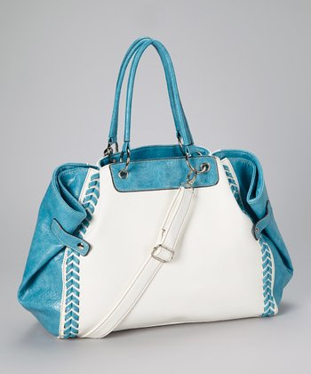 White Braid Tote