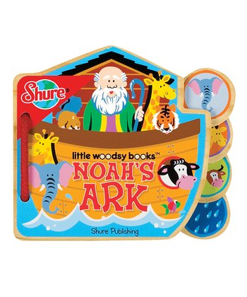Noah's Ark Wood Book