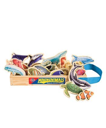Sea Creatures MagnAnimals Set