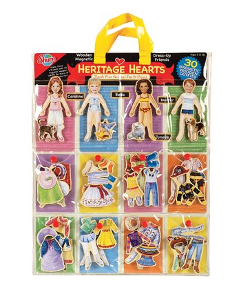 Heritage Hearts Magnetic Dress-Up Set