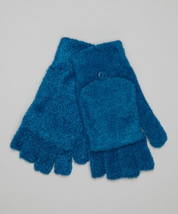 Ocean Blue Convertible Gloves