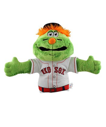 Boston Red Sox Wally Green Monster Hand Puppet