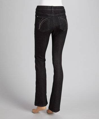 Storm Metal Pocket Straight-Leg Jeans