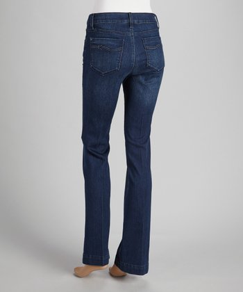 Catalina Knot Pocket Bootcut Jeans