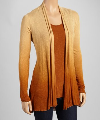 Harvest Ombre Layered Long-Sleeve Top