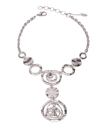 Silver & Crystal Hannah Necklace
