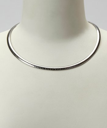 Silver Omega Necklace