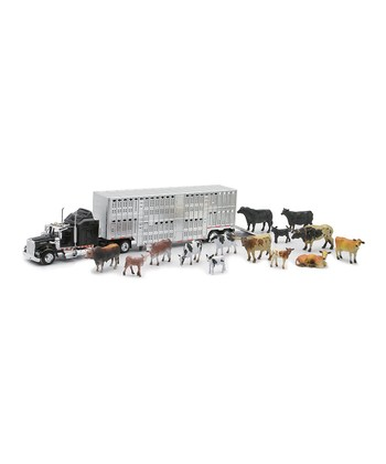 Livestock Trailer & Animals