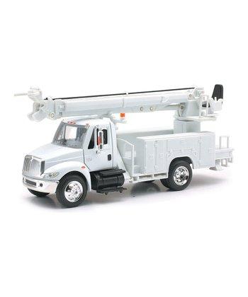 Diecast Utility Line Maintenance Truck
